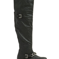 Chain-ge My Mind Over-The-Knee Boots
