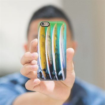 surfboards iPhone 6 case by Sylvia Cook | Casetify