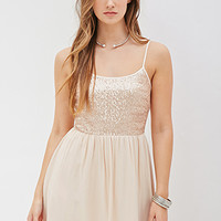 Sequined Cami Dress