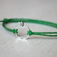 Apple Bracelet / Apple Anklet (24 colors to choose)