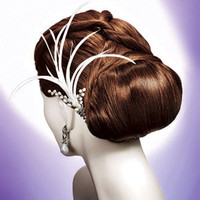 Low Chignon with Twists