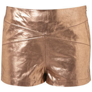 Rose Gold Panel Shorts