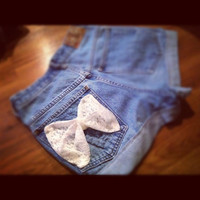 Baylee - Fabric Bow Shorts