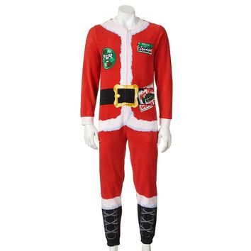 National Lampoon's Christmas Vacation Santa Claus Union Suit - Men