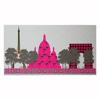 Panoramic Wall Hanging - Paris Wall Decor