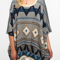 BB Dakota Dupree Poncho Sweater