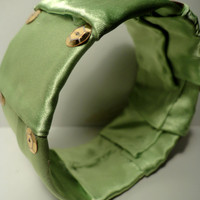 Clearance-Satin Wrapped Bangle