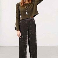 Staring At Stars Willa Wide-Leg Pant- Charcoal