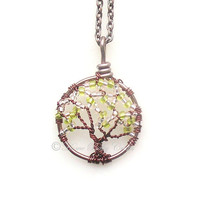 Dogwood Sapling- Mini Dogwood Tree of Life in Cream, Green, and Copper