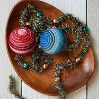 Magical Thinking Yarn Wrapped Ornament - Urban Outfitters