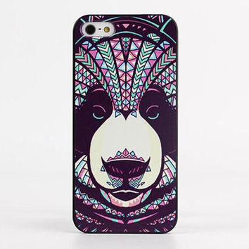 Trippy Aztec Bear Hard Case for iPhone 5 / 5S / 6