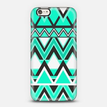 Turquoise Tribal Pattern iPhone 6 case by Organic Saturation | Casetify