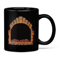 Fireplace Heat Change Mug