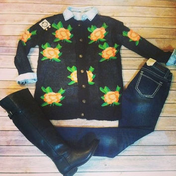 """Kiss From A Rose"" Cardigan"