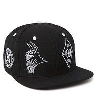 Neff Warlord Snapback Hat - Mens Backpack - Black - One