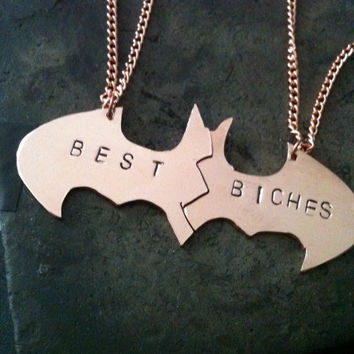 Batman Bff necklaces