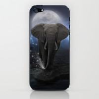 Power Is No Blessing In Itself (Protect the Elephants) iPhone & iPod Skin by soaring anchor designs ⚓ | Society6