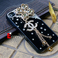 Black Iphone 4 cases, diamond  Iphone 4s cases,Iphone cases 4 ,accept custom order for HTC ,Motorola,blackberry case