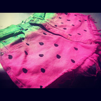 Summer Seeds - Watermelon Shorts - Great For Summer