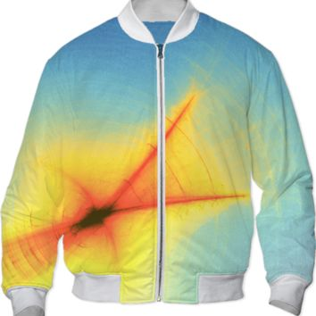 Feather Light Bomber Jacket created by Zandiepants   Print All Over Me