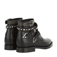 Saint Laurent Rangers Studded Boots | Harrods