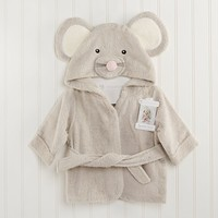 Baby Aspen Mouse Hooded Spa Robe - Baby