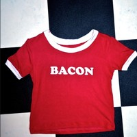 SWEET LORD O'MIGHTY! TEAM BACON RINGER TEE