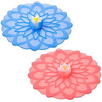 Charles Viancin® Dahlia™ Silicone Drink Covers (Set of 2)