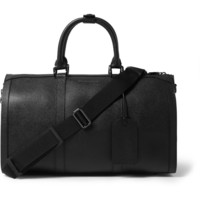 Burberry Shoes & Accessories - Textured-Leather Holdall | MR PORTER