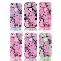 For iPhone 6 Branches Silicone +PC 4.7 Inch Case Cover - DinoDirect.com