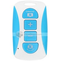 HM Chargeable Bluetooth Self-Timer Camera Shutter with Zoom Buttons for iPhone 6/iPhone 5 / 5S / 5C / 4 / 4S /6/ iPad / Samsung Galaxy S2 S3 Note 2 / Note3 - DinoDirect.com