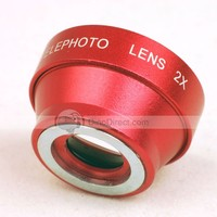 Magnetic 2X Telephoto Lens for Apple iPhone 6,iPhone5 ,Phone 4S/4 iPhone 3G S - DinoDirect.com