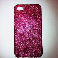Pink Glitter IPhone 4 4s Hard Cover.. on Luulla
