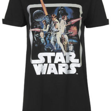Star Wars Sleep Tee - Grey Marl