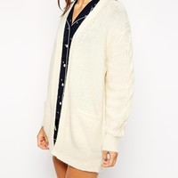Jack Wills Knitted Cocoon Cardigan