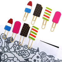 FROZEN TREATS POPSICLE PAPER CLIPS