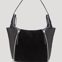 VINCE CAMUTO Hobo - Baily Suede Panel