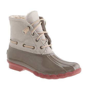 WOMEN'S SPERRY TOP-SIDER® FOR J.CREW SHORT SALTWATER BOOTS