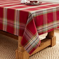 BLAKE PLAID TABLECLOTH