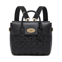 Cara Delevingne Bag in Black Quilted Lamb Nappa | Cara Delevingne | Mulberry