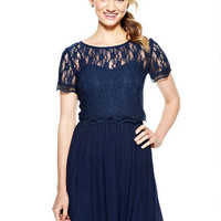 Lace Popover Dress
