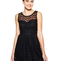 Daisy Mesh Party Dress