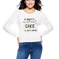 Party Without Cake Long-Sleeve Top