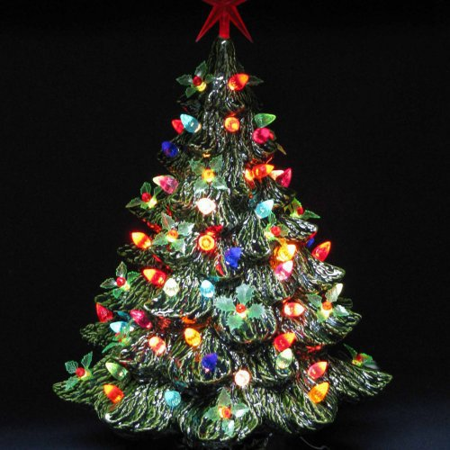 Lighted Ceramic Christmas Tree quoteslol roflcom OOHPdgC4