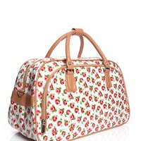 Arabella Large Weekend Rose Print Bag