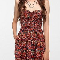 Band Of Gypsies Strapless Sundress