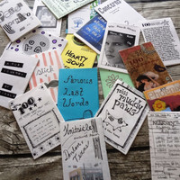 Collection of 20 Mini Zines / little books / inspiration / creativity /