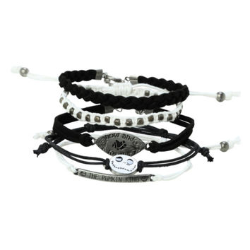 The Nightmare Before Christmas Meant To Be Bracelet 5 Pack