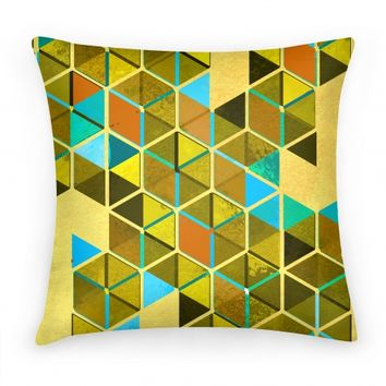 Colorful Tiles Pillow