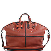 Givenchy - Nightingale Top-Handled Leather Satchel - Saks Fifth Avenue Mobile